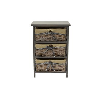 Alberta 3 Drawers Accent Chest by Rosalind Wheeler SKU:CC647566 Buy
