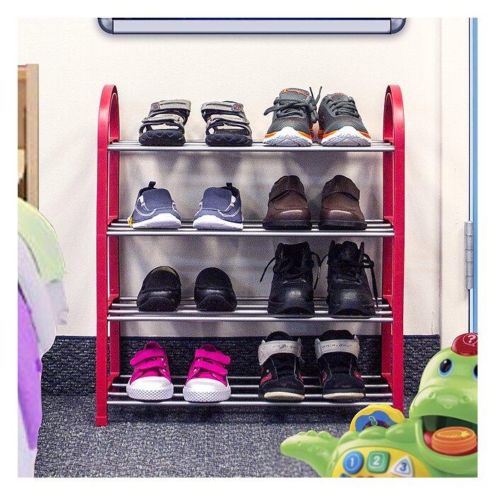 sorbus 12 pair shoe rack