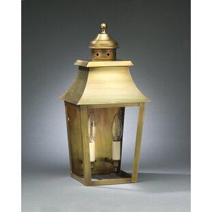 Northeast Lantern Sharon 2-Light Outdoor Flush Mount