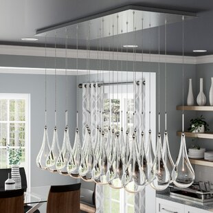 Wade Logan Neal LED Kitchen Island Pendant