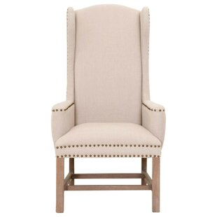Brian Wingback Chair by Gracie Oaks
