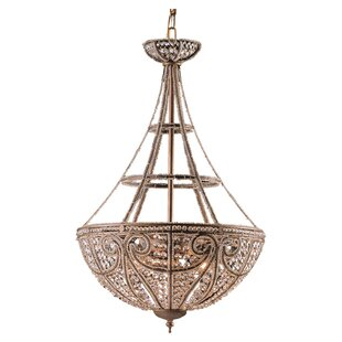 House of Hampton Goethe 4-Light Bowl Pendant