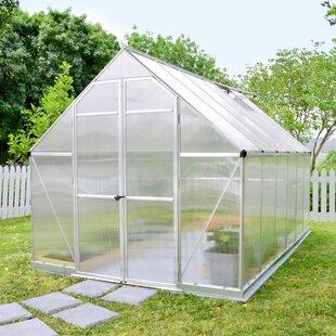 Palram Essence 8 Ft. W x 12 Ft. D Greenhouse