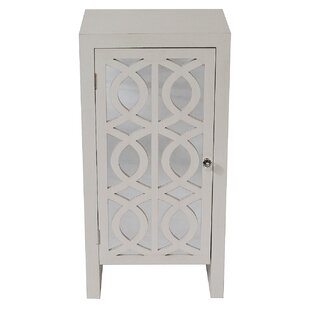 Alyshia 1 Door Accent Cabinet by House of Hampton