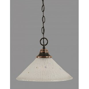 Red Barrel Studio Cassana 1-Light Bowl Pendant