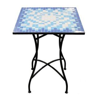 August Grove Cervantez Square Mosaic Bistro Table