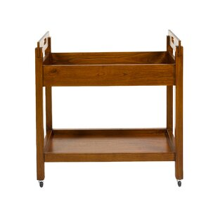 Russ Serving Cart By Bay Isle Home