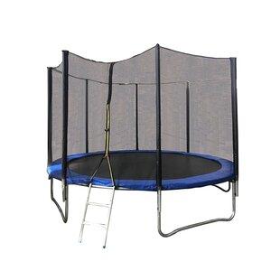 ALEKO Octagon Trampoline with Safety Enclosure