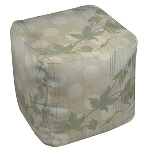 Summer Vine 2 Ottoman by Manual Woodworkers ..