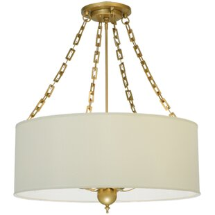 Meyda Tiffany Cilindro Eggshell 6-Light Pendant