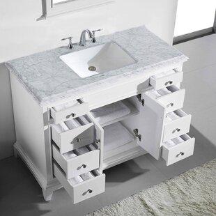 Pinkston 42 Single Bathroom Vanity Set