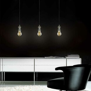 Evisage VI 1-Light Bulb Pendant by Jesco Lighting