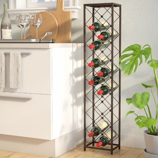 Oakham 15 Bottle Floor Wine Rack by Three Posts