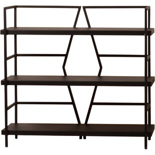 Diamond Etagere Bookcase