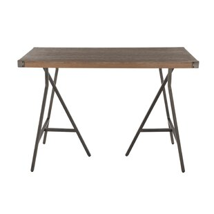 Williston Forge Bond Trestle Industrial Counter Height Dining Table