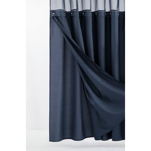 Leopard Wood Waterproof Bathroom Polyester Shower Curtain Liner Water Resistant