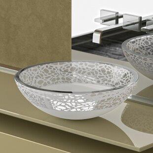 Compare & Buy Atelier Glass Circular Vessel Bathroom Sink ByMaestro Bath