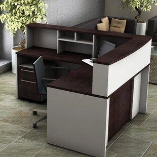 Bargain 5 Piece L-Shape Desk Office Suite By OfisLite
