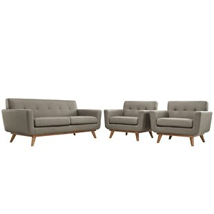 Saginaw 3 Piece Living Room Set