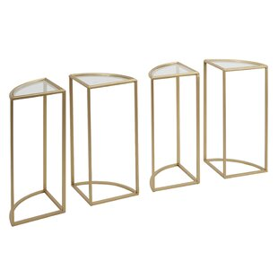 Read Reviews Houle End Table (Set of 4) by Mercer41
