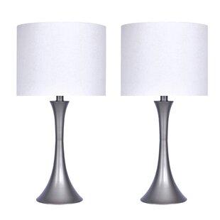 Lamp sets youll love wayfair 2425 table lamp set of 2 aloadofball Images