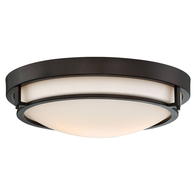 Light 13 Simple Bowl Flush Mount
