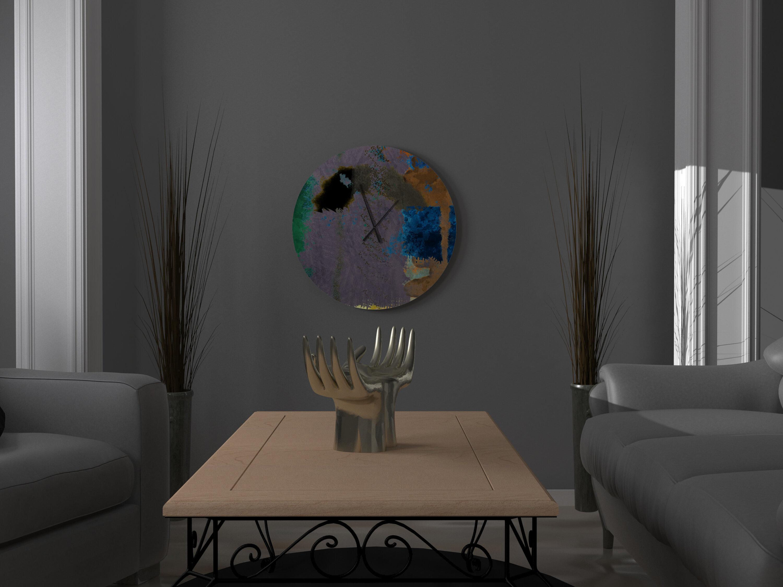 East Urban Home Genevieve Wall Clock Wayfair