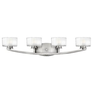 Compare Lutz 4-Light LED Vanity Light By Latitude Run