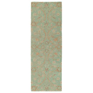 Barker Ridge Handmade Turquoise Indoor/Outdoor Area Rug