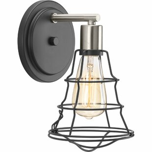 Theressa 1-Light Bath Sconce by Williston Forge