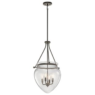 Breakwater Bay Edgemoor 4-Light Urn Pendant