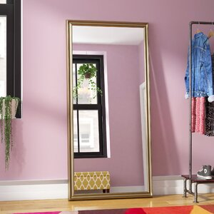 Modern Burnished Full Length Mirror