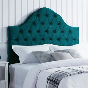 Damari Upholstered Panel Headboard by Everly Quinn