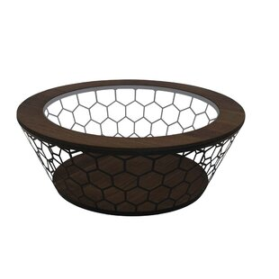 Zephyr Hexa Metal Coffee Table by Gracie Oaks Herry Up