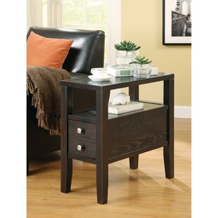 Valdes Casual Wooden End Table