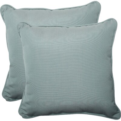 Pillow Perfect Canvas Outdoor Throw Pillow