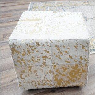 Millwood Pines Elisabeth Leather Cube
