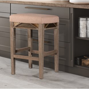 Alcanza Bar Stool Bungalow Rose