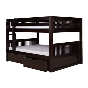 Oakwood Full Over Full Bunk Bed with Drawers