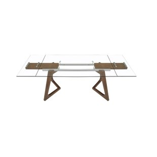 Bragg Modern Extendable Dining Table by Williston Forge
