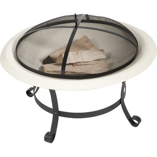 Quijano Steel Wood Fire Pit By Sol 72 Outdoor