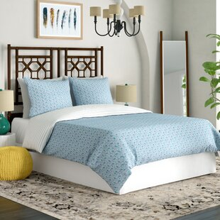Creissant 100% Cotton Reversible Duvet Cover Set