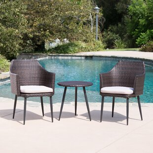 Order Brant 3 Piece Conversation Set with Cushions Buy & Reviews