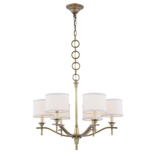 Everly Quinn Gwendolen 6-Light Shaded Chandelier