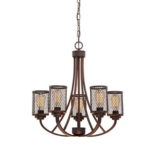 Bastien 5-Light Candle-Style Chandelier