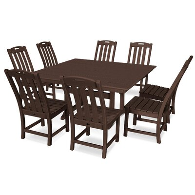 Yacht Club 9 Piece Dining Set Trex Outdoor