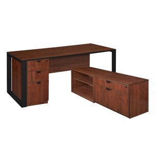 Mireya L-Shape Executive Desk