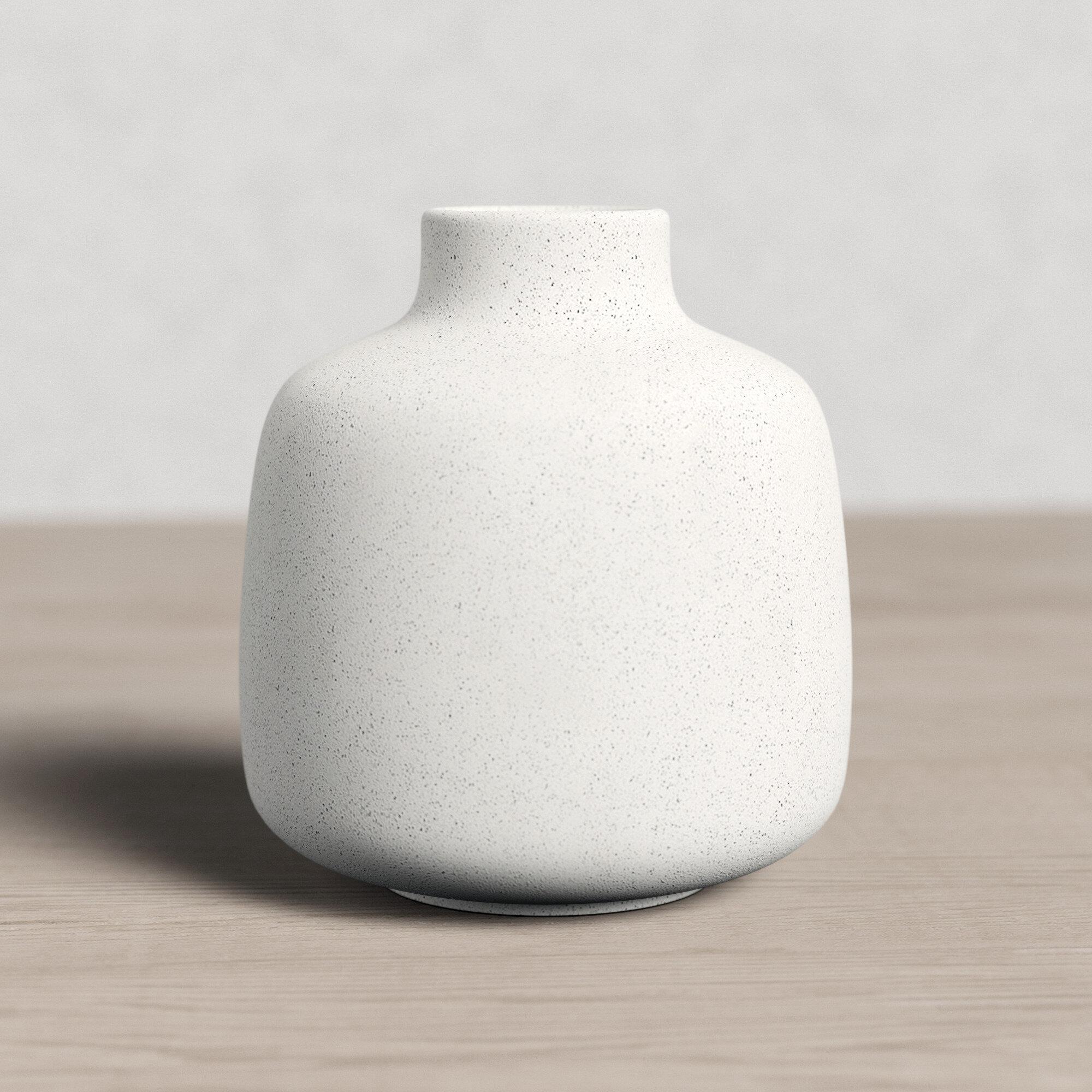 Rudea 5 32 Ceramic Table Vase Reviews Allmodern