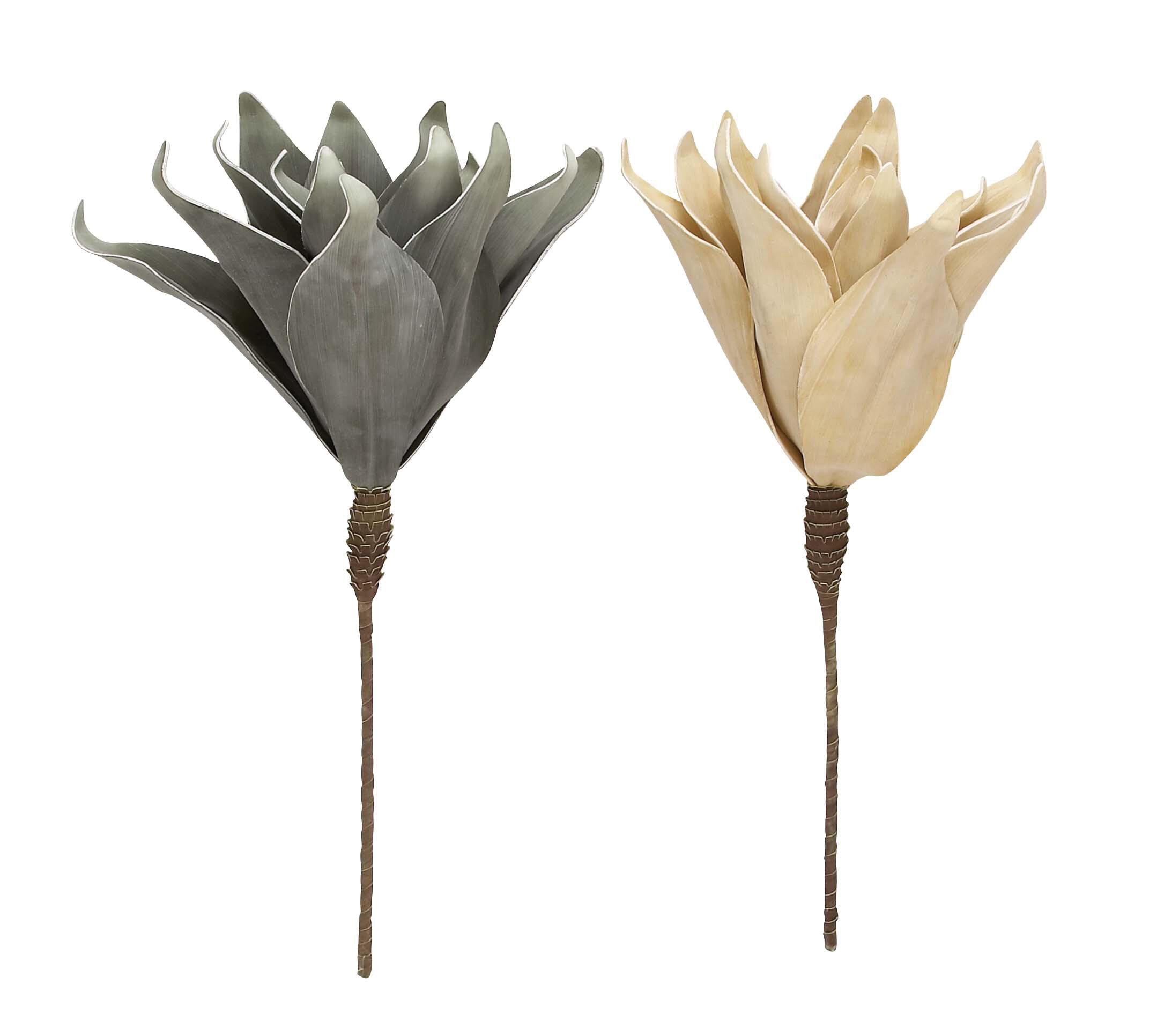 Ophelia Co 2 Piece Artificial Flower Set Wayfair