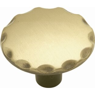 Cavalier Mushroom Knob by Hickory Hardware Best Choices